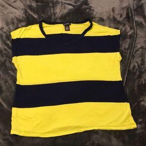 Thick striped t-shirt